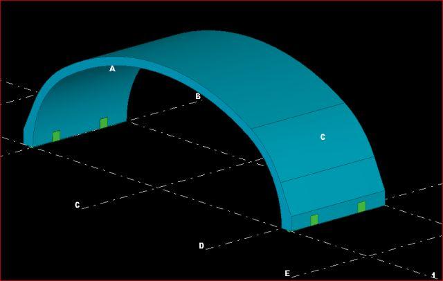 E-Betoonelement tarnib raudtee kaitsetunneli elemendid