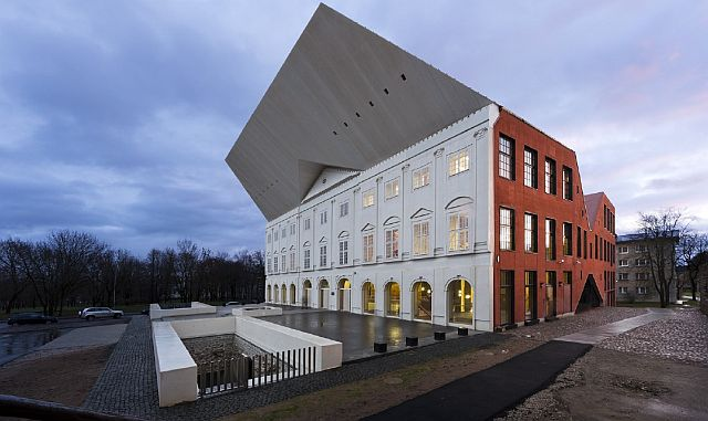 University of Tartu Narva College won the special prize for the architect at the Concrete Building of the Year 2012 contest