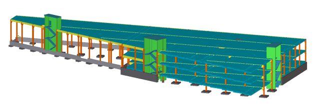 AS E-Betoonelement projekteerib ja toodab Laki tn 36 kaubandus- ja büroohoone elemendid