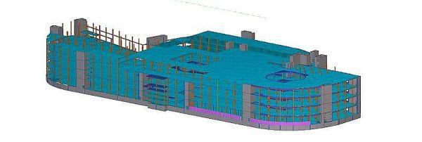 Элементы для торгового центра T1 поставит E-Betoonelement