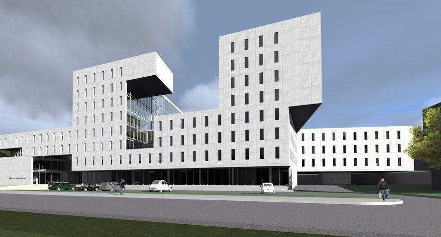 E-Betoonelement projekteerib ja toodab uue kohtuhoone elemendid