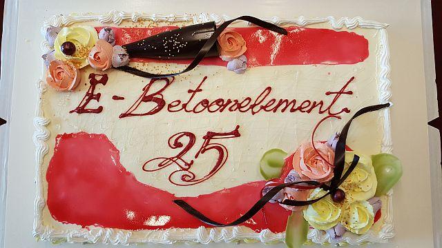 E-Betoonelement tähistab 25. sünnipäeva