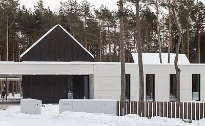 Estonian Concrete Building of the Year Award goes to a private residence in Viimsi