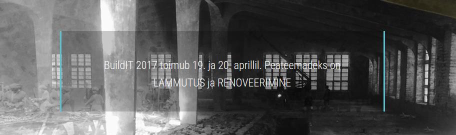 С 19 по 20 апреля E-Betoonelement принимает участие в конференции и ярмарка ТТУ BuildIT