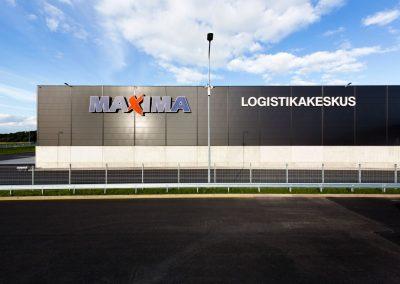 Maxima logistikakeskus E-Betoonelement