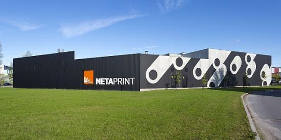 У MetaPrint летом в Пярну завершится строительство расширения здания