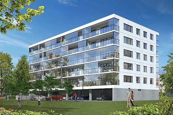 Elements for the apartment building at Uus-Sadama St 11 delivered by E-Betoonelement