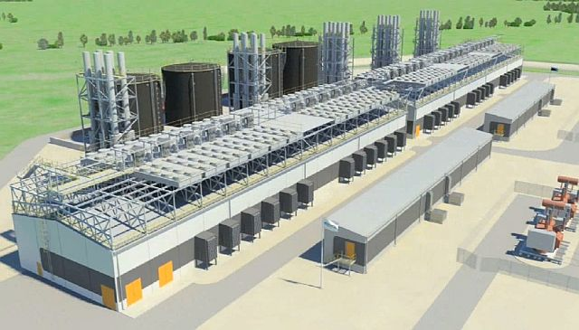 AS E-Betoonelement to assembly elements for Kiisa Emergency Reserve Power Plant