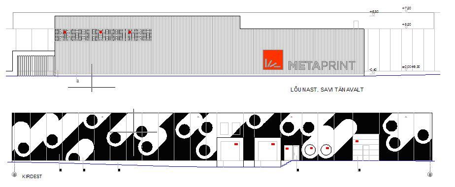 AS E-Betoonelement paigaldab juba kolmanda MetaPrint AS tootmis- ja laohoone