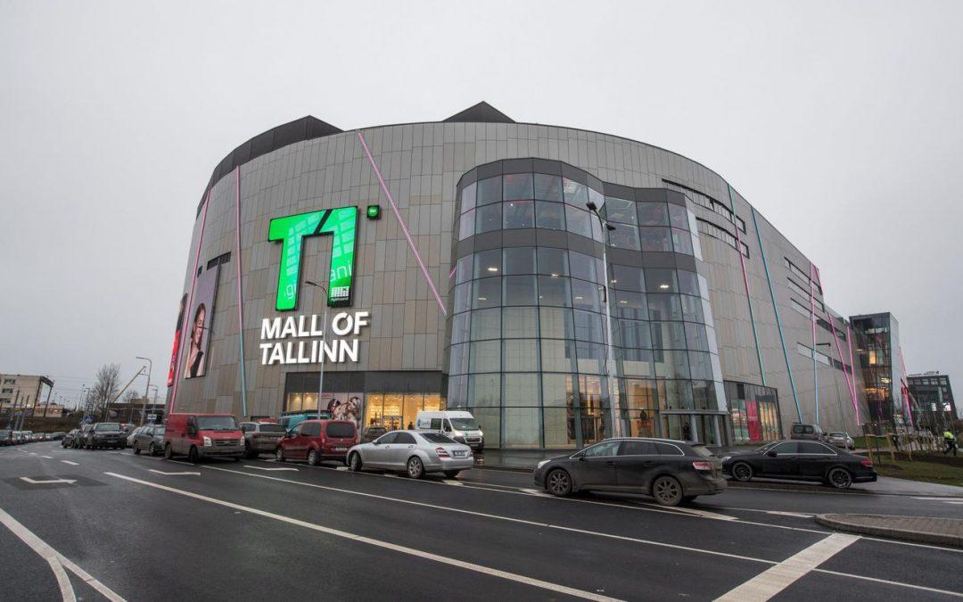 Tohutu suur T1 Mall of Tallinn seisab tamsalulaste toel