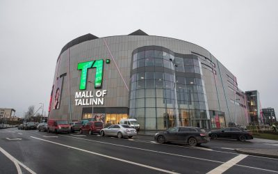 5e5ebc10913 Tohutu suur T1 Mall of Tallinn seisab tamsalulaste toel