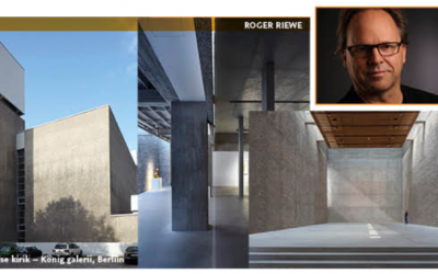 The Concrete Day will be held on March 13—the winner of the Concrete Building of the Year will be announced