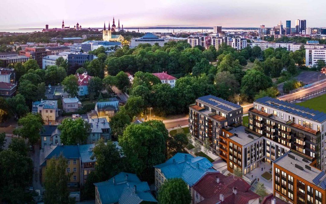 Metro Capital заложила краеугольный камень многоквартирного дома района Уус Мааильм