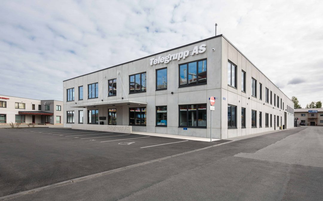 Business Centre in Töökoja Street—Successful Collaboration between Sister Companies