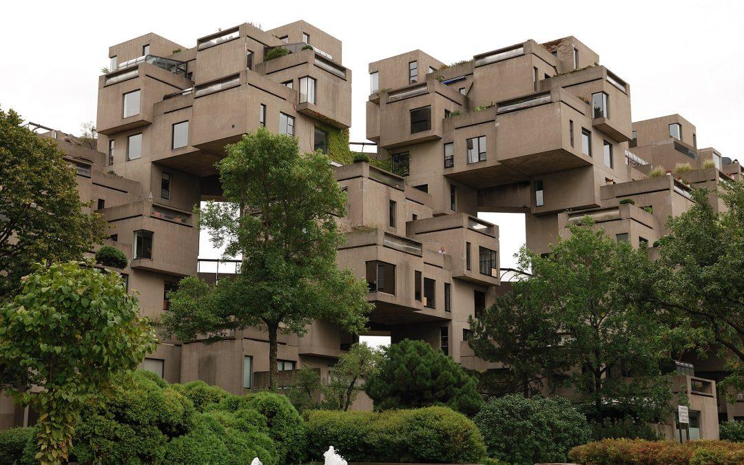Habitat'67, Montreal, Kanada. Allikas: Wikipedia