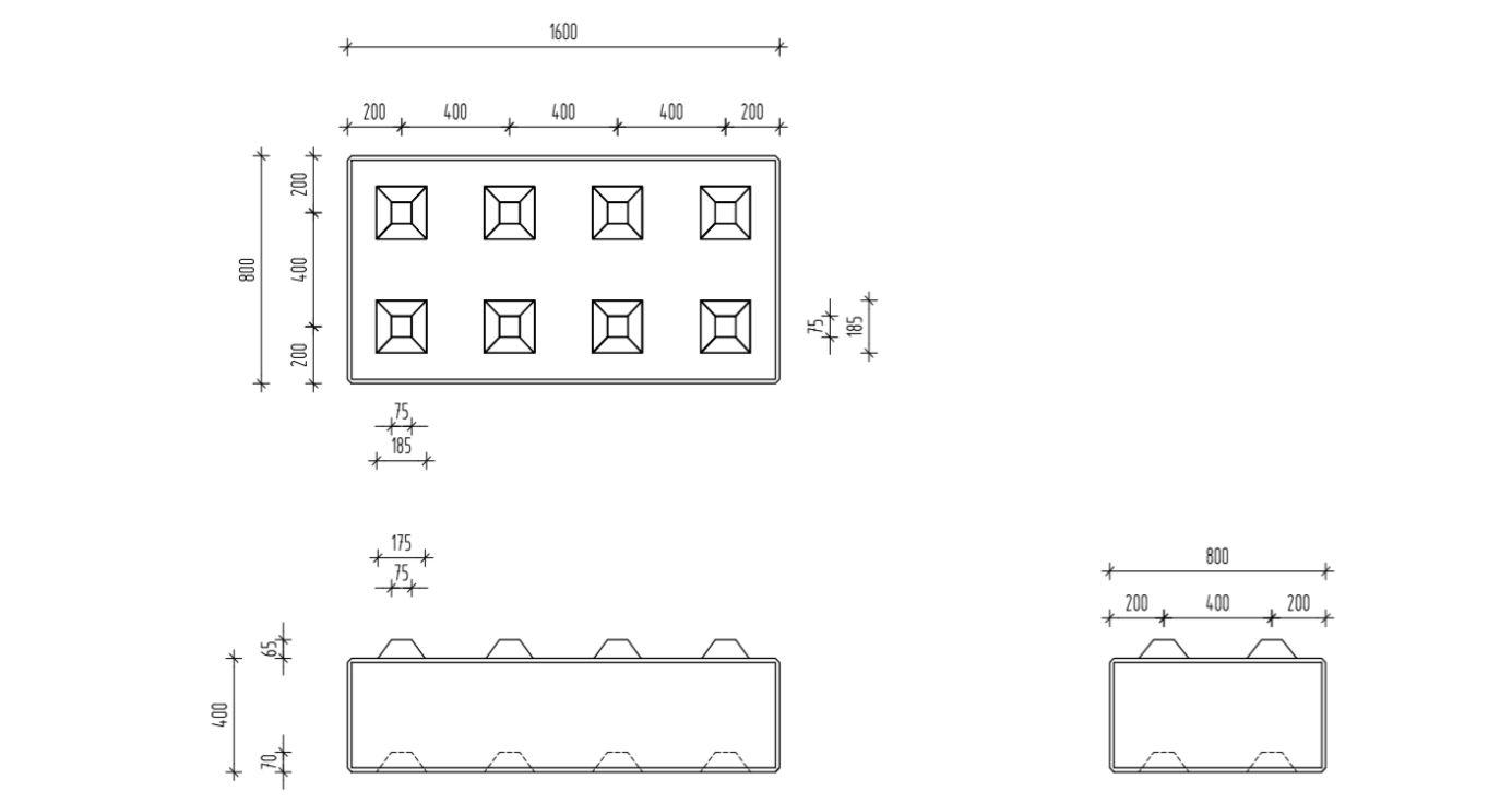 Legoplokid E-Betoonelement