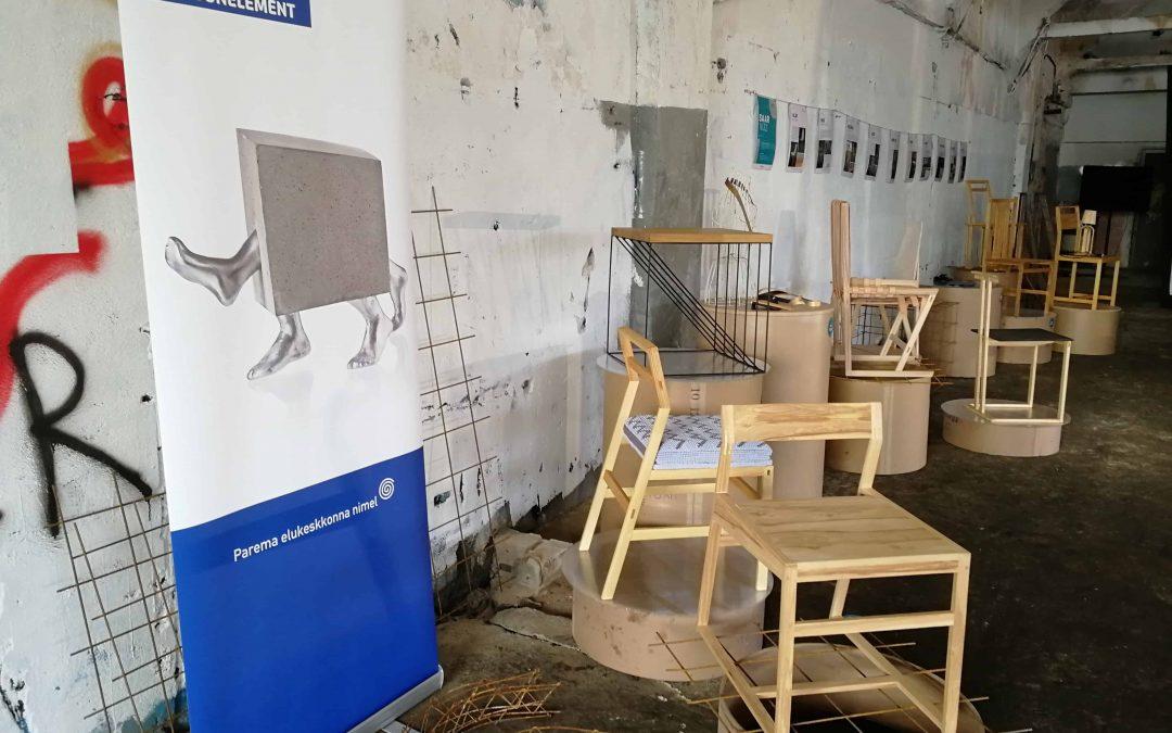 Disainiööl näeb tudengite ja E-Betoonelemendi koostööd