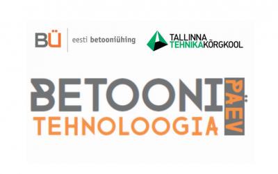 Eesti Betooniühing ja Tallinna Tehnikakõrgkool kutsuvad Betooni tehnoloogiapäevale